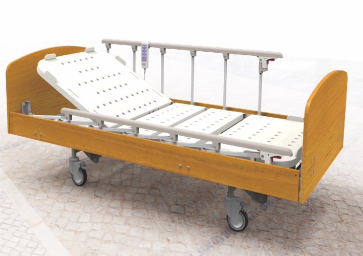 Home Care Bed  Wooden    ES 08FDS  Wooden Style. A professional hospital bed emergency stretcher medical furniture