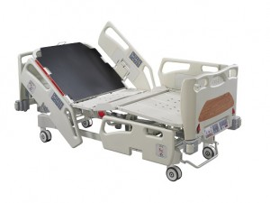 Weight Scale ICU Hospital  Bed - ES-12DW (Drop-down Siderails).